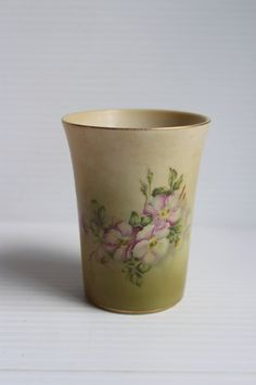 NIPPON Hand Painted China Cup Vintage cup with by TheJellyJar