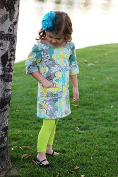 INSTANT DOWLOAD The Adelaide A-Line Dress sewing pattern - sewing pattern - PDF pattern - dress- girls pattern