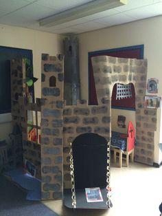 Castle role-play area