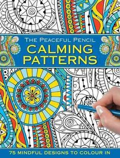 Take Time To Relax With This Beautiful Pocket Sized Book Of Designs Color In