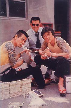 """The Snake Brothers/Mamushi no KYODAI BUNTA SUGAWARA & TAMIO KAWACHI with HIROKI MATSUKATA まむしの兄弟 恐喝三億円 (1973) """""""