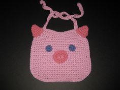 As featured on the Knit & Crochet Today show, these adorable bibs are easy, fun and fast to crochet, and make terrific last minute gifts. Description from crohets.com. I searched for this on bing.com/images