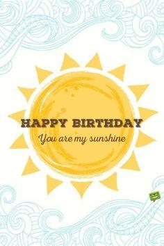 The Number Happy Birthday Meme Happy Birthday Sunshine, Happy Birthday Honey, Happy Birthday Text, Happy Birthday Images, Birthday Fun, Birthday Parties, Singing Birthday Cards, Birthday Cards For Son, Birthday Clips