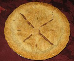 Grandma Jean's Sugarless Apple Pie - Need a Thanksgiving recipe for the perfect apple pie? Try this delicious, sugar-free apple pie for your next Thanksgiving feast!