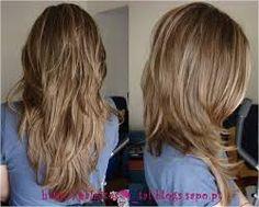 Resultado de imagem para cabelo comprido escadeado