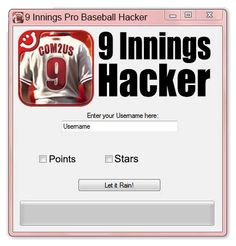 9 Innings Pro Baseball Hack Tool No Survey (Android | IOS)