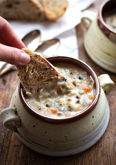 Crock-Pot chicken wild rice soup