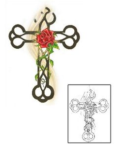 Show details for Christian Tattoo FRF-00014