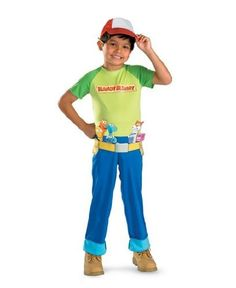 Handy Manny Costume - Child Costume - Small (4-6):Amazon:Toys  Games