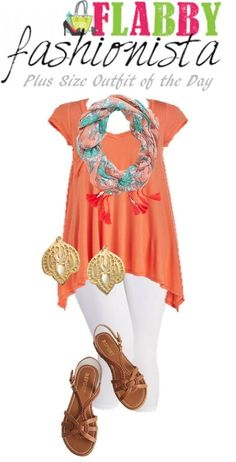 Heading somewhere tropical? This Plus Size Outfit of the Day is perfect!
