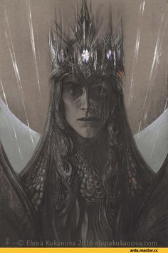 Мелькор,Моргот Бауглир, Morgoth, Моргот,Валар,Айнур,Арда,фэндомы,Elena Kukanova