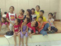 The kid's drama club. :)) literally!!