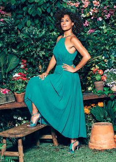 celebritiesofcolor:  Tracee Ellis Ross photographed for The Hollywood Reporter