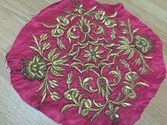ottoman silk gold metallic bindallı part FOR SALE • $249.00 • See Photos! Money Back Guarantee. ottoman silk gold metallic embroidery bindallı part great condition. one part dimension diameter:35cm 232293257375