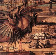 Vittore Carpaccio, Saint George et le dragon (détail) - Wikipedia, the free encyclopedia