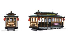 the final cable car exterior from Big Hero 6