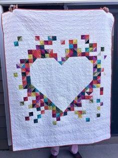 Heart quilt - inspiration
