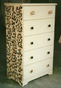 Love This Cheetah Print Dresser Cheetah Nursery, Cheetah Bedroom, Leopard Room, Leopard Print Baby, One Bedroom, Girls Bedroom, Girl Decor, Baby Room Decor, Bedroom Decor