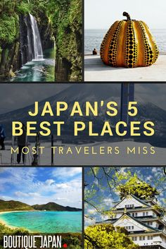 "What are the best places in Japan that aren't ""touristy"" and most people know nothing about? They include beaches, mountains, an ancient forest, and more!"