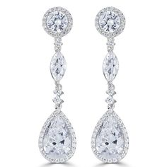 Check out the deal on Duchess Trio Drop Earrings, Sterling Silver at Perfect Details Wedding Earrings, Wedding Jewelry, Diamond Scale, Travel Jewelry, Teardrop Earrings, Chandelier Earrings, Jewelry Collection, Fine Jewelry, Fashion Jewelry