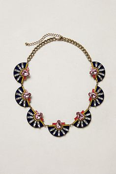 Etruscan Petal Necklace #anthropologie