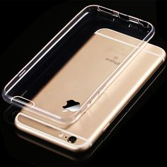 74e4a17edc86 50 PCS LOT Clear Soft TPU Case Silicone Cover For iPhone 6 6S 6 7 7 Plus  Ultra Thin Transparent Phone Back Case DHL Shipping -in Fitted Cases from  ...