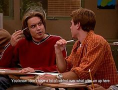 Eric Matthews - Boy Meets World Funny Today, Funny Laugh, Hilarious, Boy Meets World Quotes, Girl Meets World, Best Tv Shows, Best Shows Ever, That 70s Show Quotes, Crush Movie