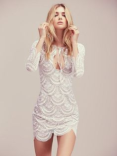 For Love & Lemons Rosalita Mini Dress at Free People Clothing Boutique
