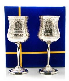 Luxirious brass Box Glass goblets pack  http://www.ashopi.com/Luxirious-brass-Box-Glass-goblets-pack_2311.html
