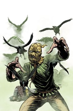 Scarecrow variant cover.