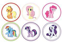 Resultado de imagen para mi pequeño pony imagenes para tarjetas y stickers