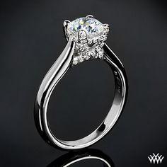 18k White Gold Vatche 119 Royal Crown Diamond Wedding Set Diamond