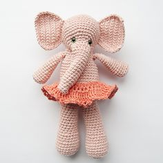 Ravelry: Morris & Matilda Amigurumi Elephants pattern by Karla Fitch