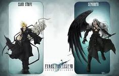 See Difference of FFVII Original - Remake Artwork Final Fantasy, Final Fantasy Cloud, Final Fantasy Characters, Final Fantasy Vii Remake, Fantasy Series, Final Fantasy Crisis Core, Cloud Strife, Character Art, Clouds