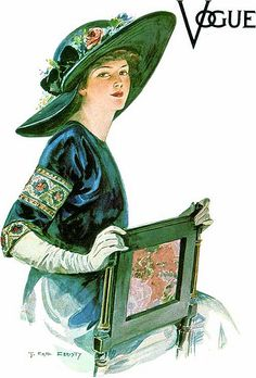 Earl Christy, Vogue, 1920s by Gatochy, via Flickr