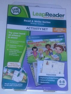 Leapreader read and write activity settings