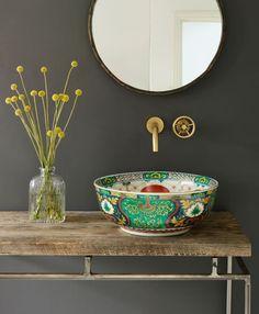 "Home Design Ideas: Home Decorating Ideas Bathroom Home Decorating Ideas Bathroom 5. ""Adriana"" von London Basin Company"