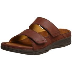 Drew Shoe Women's Milan Sandal,Brown Leather,9.5 M US >>> More info could be found at the image url.