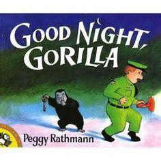 Good Night Gorilla drawings