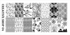 Creative Shop 04 stamping plate