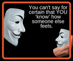 We've all heard it. 'I know how you feel.' But do we really? How can we?  Yourlifeenhanced.net