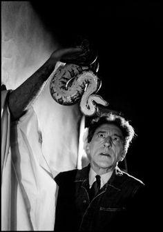 Jean Cocteau.-Philippe Halsman