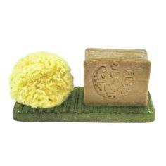"Porte-savon rectangle ""Ice"" Lemon"