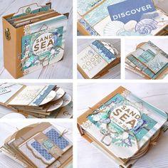 Mini Books, Mini Albums, Decorative Boxes, Card Making, Mini Scrapbooks, Paper Crafts, Art Journals, Creative, Instagram Posts