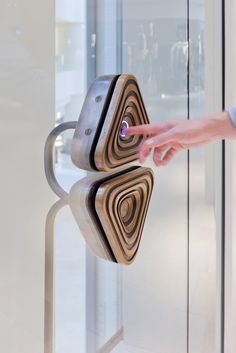 Sand Cast Elevator Buttons | Pacific Place | Hong Kong | Heatherwick Studio