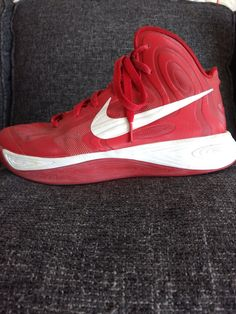 nike huarache cleats red, Nike Zoom Hyperfuse HF Basketball
