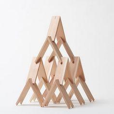 Kengo Kuma projeta série de blocos de montar