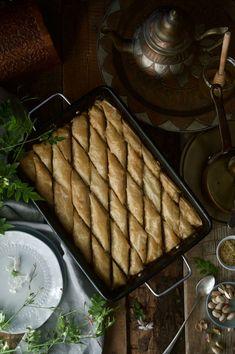 Patty's Cake Pasta Filo, English Food, Relleno, Pistachio, Pecan, Cheese, Cooking, Cake, Desserts