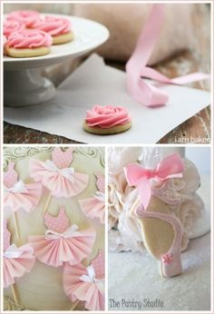 Hermosas galletas y tutús para cupcakes :: Beautiful cookies and tutus for cupcakes