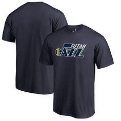 Utah Jazz Primary Logo T-Shirt - Navy
